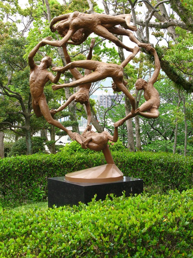 Constellation Earth, Statue by Paul T. Granlund