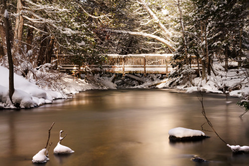 Wintry Seven Bridges