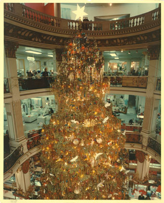 Christmas Tree in Rotunda SFL