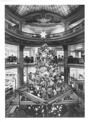 Christmas Tree SFL B&W